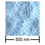 Spiral growth of GaSe on H-terminated Si(111) (K. Ueno)