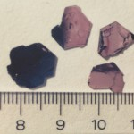 Single crystals of TiSe2 (K. Saiki)